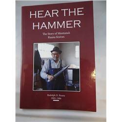 Hear the Hammer, Ruana Knives soft cover book