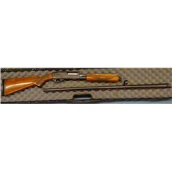"Remington 870 Wingmaster, Full choke, 34"" ribbed barrel, 2 3/4"", 12 GA, s#798385V, case"