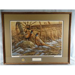 Rosemary Millette, Heartland, 121/1900, signed, PF 10th Annv. Print, 23w x 16h and Heartland 10th An