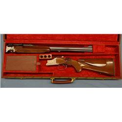 Winchester Double Express, O/U, Jaeger model,  QA mts (very rare), 7x57/7x57 Mauser, s#AMSR-54E, pre