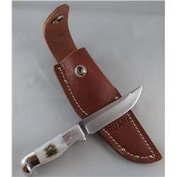 """Ruana 8B skinner knife, bone handle , 3 1/2"""" blade"""