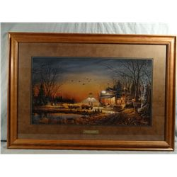 Terry Redlin, Welcome to Paradise, framed print