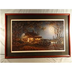 Terry Redlin, Autumn Traditions, framed print