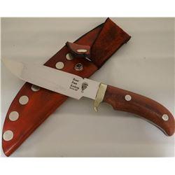 """Bear Paw, Havre, MT, wood handle, 6"""" blade"""