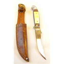 "Western hunting knife, 3 1/2"", sheath"