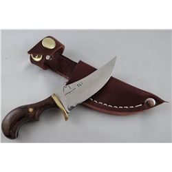 "Jody Martin knife, wood handle, 3"" blade"