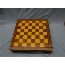 NRA Amercian Patriot chess set, wooden case, like new