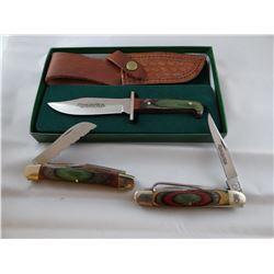 3 Remington knives