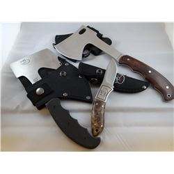 Browning knife, 2 hatchets-Rocky Mountain Elk Foundation