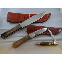 3 knives: Canal Street, New York
