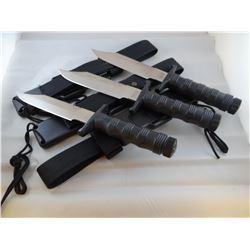 3 Special Forces survival knives, NIB