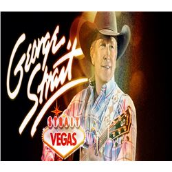 George Strait Las Vegas Concert & National Finals Rodeo December 6th & 7th for 2 people