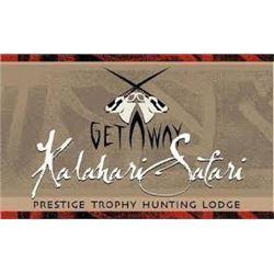 African Hunting Safari includes trophy fee for 1 Gemsbok with Kalahari Safari
