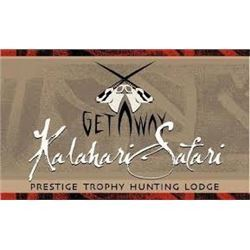 African Hunting Safari includes trophy fee for 1 Gemsbok with Kalahari Safari