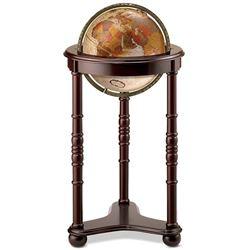 World Globe on Wooden Stand