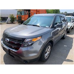 2015 FORD EXPLORER AWD FLEX FUEL VIN 1FM5K8AR1FGA00208