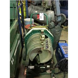 """GREENLEE 853 1"""" TO 2"""" MOBILE ELECTRIC CONDUIT BENDER"""