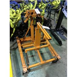 STRONG ARM ENGINE STAND & MOBILE HYDRAULIC LIFTING JACK