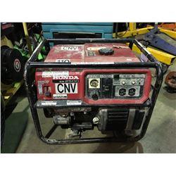 HONDA EM 2500 GAS POWERED GENERATOR