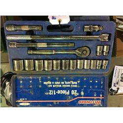 WESTWARD STANDARD SOCKET SET