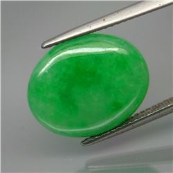 Natural Chinese Green Jadeite/Jade 8.62 Ct - Untreated