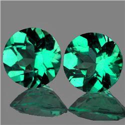 Natural Paraiba Green Blue Apatite Pair 5.70 MM - VVS