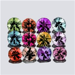 Natural Multi Color Burma Spinel 12 Pcs