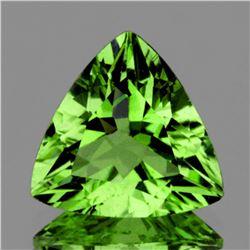 Natural AAA Green Apatite 12.50 MM (VVS)