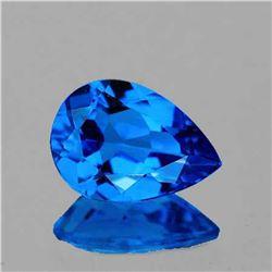 NATURAL AAA  SWISS BLUE TOPAZ 14x10 MM - FL