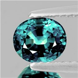 Natural Bluish Greenish Sapphire 6x5 MM {Flawless-VVS}