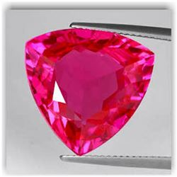 Natural Trillion Red Topaz 20.60 Carats - VVS