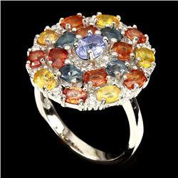 Natural Tanzanite Fancy Sapphire Ring