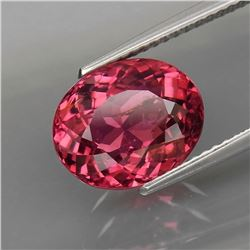 Natural Top Pink Tourmaline 4.31 Ct - Untreated