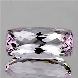 NATURAL SOFT PINK Bi- Color KUNZITE [FLAWLESS-VVS]