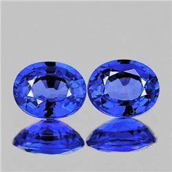 NATURAL CEYLON BLUE SAPPHIRE Pair [FLAWLESS-VVS1]