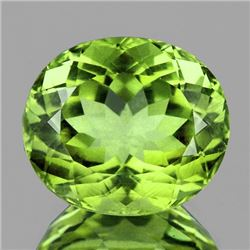 Natural  AAA Green Apatite 4.00 Ct (VVS)