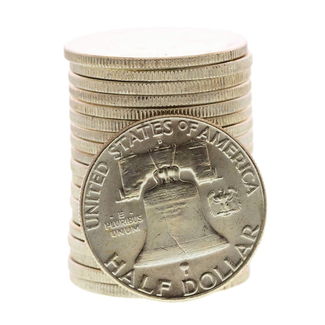 BU 1962-D Franklin Half Dollar Brilliant Uncirculated