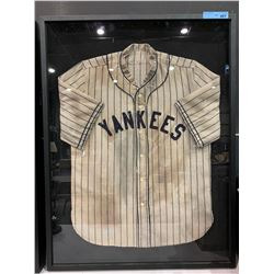 FRAMED VINTAGE NY YANKEE'S JERSEY 30S/40S
