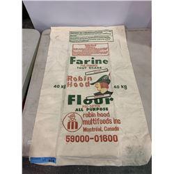 VINTAGE ROBIN HOOD FLOUR BAG