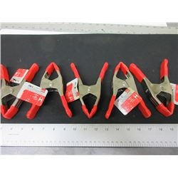 New lot of 5 Bessy 2 inch Spring Clamps