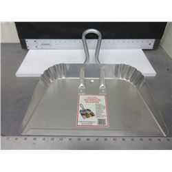 New Heavy Duty Aluminum Dust Pan / work saver great for shop or garage
