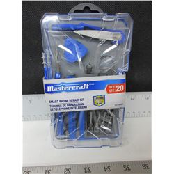 New Mastercraft Smart Phone Repair Kit / 20 piece