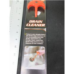 23 inch Drain Cleaner easily cleans hair from clogged drains
