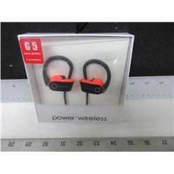 New Power3 Wireless Headphones G5 Sports for running with Mic and more
