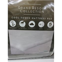 Twin Grand Resort Collection Cool Touch Mattress Pad