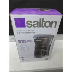 New Salton 1 cup Coffee Maker / comes with mug and permanent filter