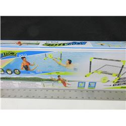 Mini Waterpolo Net / floats on water / also great for on land or indoors