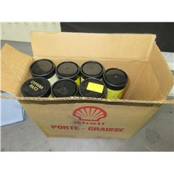 7 New Tubes of Shell SHE Grade 3 Hydro-Lock Drilling head Grease/ same