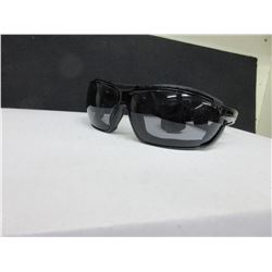 2 New Pairs of UVEX S4041 Safety Glasses / Tirade/black frame with headband