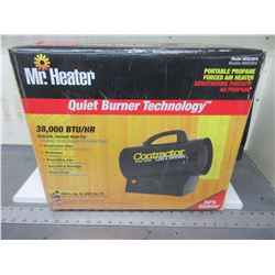 New Mr. Heater 38,000btu Contractor QBT Series